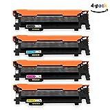 ONINO Toner für Samsung CLT-406 Toner Kompatibel Samsung CLT-P406C CLT-K406S CLT-K406S SL-C460W CLT-P406C SL-C460FW SL-C467W CLP-360 CLP-360N CLP-365 CLP-365W CLP-368 CLX-3300 CLX-3305 CLX-3305FN