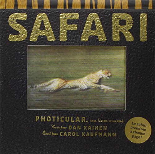 Safari : Photicular, un livre animé