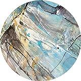 SESO UK-CAR Runder Rutschfester Teppich, Nordic Rug, Wohnzimmer Schlafzimmer Home Decor Blanket Stärke -7 mm (größe : 200cm)