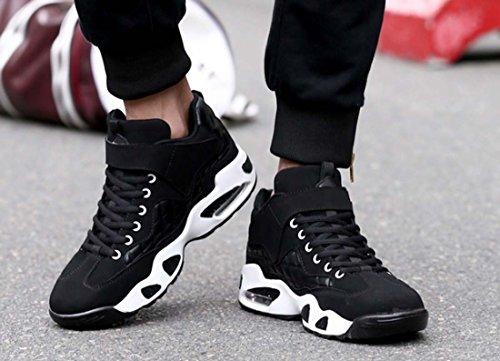 Nuove Scarpe Da Basket Da Uomo Cuscino Cuscino Scarpe Da Corsa Leggere Scarpe Da Uomo Antiscivolo Black