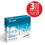 TP-Link TD-W8968 N300 Wireless ADSL2+ Router (White)