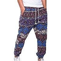 fuxinhe Uomo Pantaloni in Lino Stampato Pantaloni Traspiranti Larghi  Pantaloni Leggeri Ultra-Sottili Alta qualità · Visualizza più scelte fbddd080723