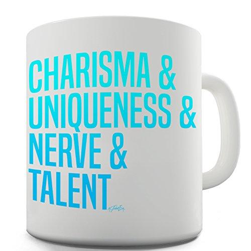 Twisted Envy Charisma, unicità, nervose e divertente tazza in ceramica Talent