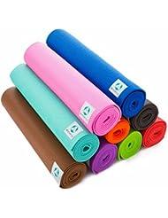 """Esterilla de """"Annapurna Comfort""""/ejercicios-para la solución ideal para practicar yoga, pilates, gimnasia. Dimensiones: 183 x 61 x 0,5 cm/en muchos trend-coloures disponibles. morado"""