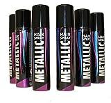 KarnevalsTeufel Haarspray Haarschmuck farbiges Spray für die Haare Metallic-Effekt (metallic rot)