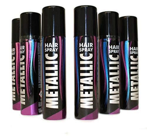KarnevalsTeufel Haarspray Haarschmuck farbiges Spray für die Haare Metallic-Effekt (metallic Bronze)