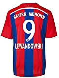 Trikot Adidas FC Bayern München 2014-2015 Home (Lewandowski 9, M)