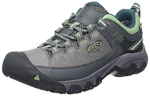 Keen Frauen Schuhe Von (Keen Damen Targhee EXP WP Trekking-& Wanderhalbschuhe, Grau (Steel Grey/Green Basil Steel Grey/Green Basil), 40 EU)