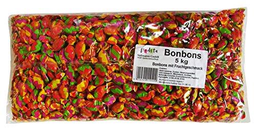 Preisvergleich Produktbild Bonbons als Wurfmaterial,  für Kindergeburtstag und Büro,  1er Pack (1 x 5kg)