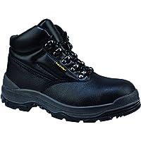 Capps LH811 Unisex antistatisch Sohle schwarzem Leder im Chukka-Stiefel mit Stahlkappe