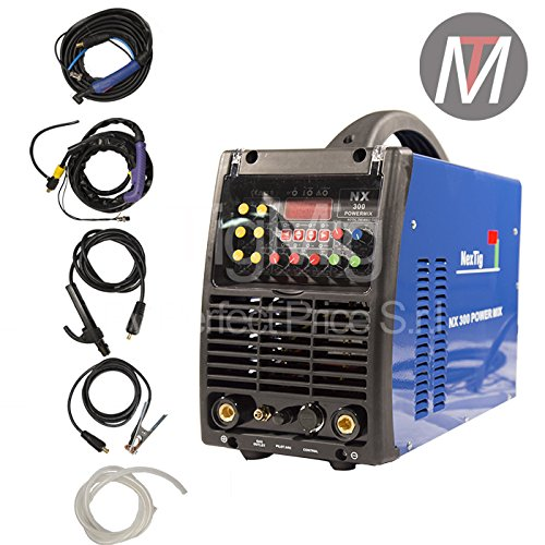 NX 300Power Mix–INVERTER Multi Prozess 4x 1–Schweißgerät TIG AC, Schweißgerät TIG DC, Schweißgerät MMA und Schnitt Plasma