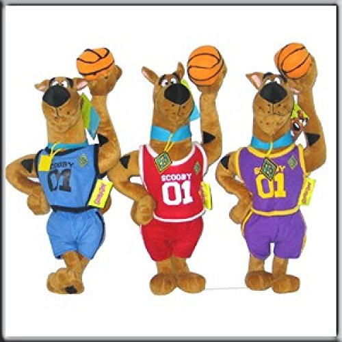 1 Peluche Scooby Doo Basketeur
