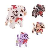 Lamdoo Cute Animal Toy Walking Bellen Plüsch Hund Elektrische Geburtstag Kinder Kid Geschenke