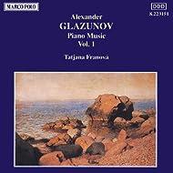 Glazunov: Piano Music, Vol. 1