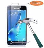 Cardana | 3x bruchsicheres Panzerglas für Samsung Galaxy J3 2017| Schutzfolie aus 9H Echt Glas | angenehme Handhabung | Schutzglas zum Schutz vor Displayschäden | blasenfreie Anbringung | 3 Stück…