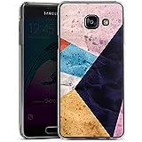 Samsung Galaxy A3 (2016) Housse Étui Protection Coque Couleurs Structure Motif