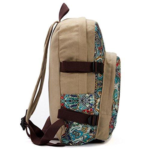 Chang Spent NERO FARFALLA borsa a tracolla nazionale tela vento la signora di grande capacità studenti delle scuole bag , a c