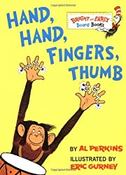 Hand, Hand, Fingers, Thumb (Bright & Early Board Books) by Al Perkins (1998-01-20)
