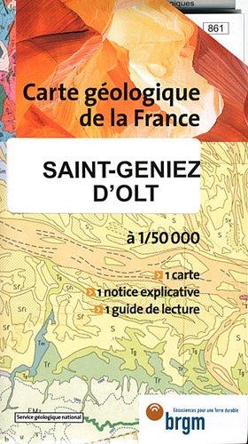 Carte géologique : St-Geniez-d'Olt