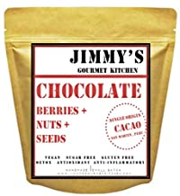 Jimmy's Gourmet Kitchen | Chocolate Muesli | Buy 1kg get 1kg Free | Vegan | Gluten Free | No Added Sugars