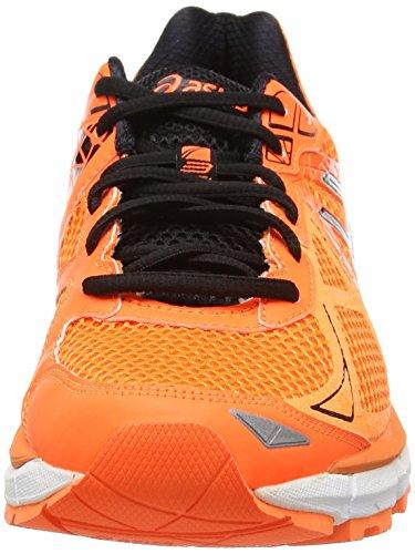 ASICS GT-2000 3, Chaussures de Running Entrainement Homme Orange (Hot Orange/Silver/Black 3093)