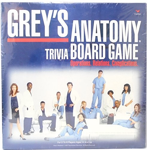 Preisvergleich Produktbild Cardinal Industries Grey's Anatomy Game by Cardinal Industries