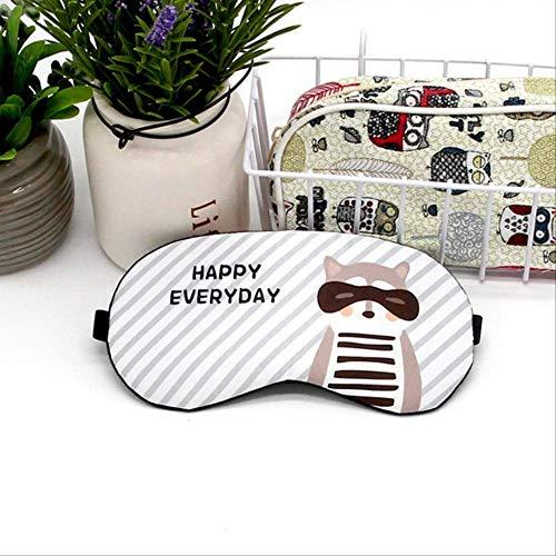 Schlafmaske,Baumwolle Kreative Schöne Cartoon Für Auge Katze/panda/hund Reise Entspannen,Geburtstagsgeschenk Maske Für Jungen Und Mädchen Urlaub D -