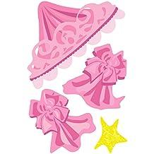 Wallies rosa toldo cabecero de cama