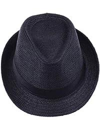 BoBo-88 Cappello Panama Unisex Cappello da Sole con Cappello A Stoffa  Nastro di in Unique Stlie Tessuto. 8190120d00a7