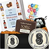 Geschenkidee 8. Geburtstag | Geschenkbox Whisky | 8. Geburtstag Geschenk