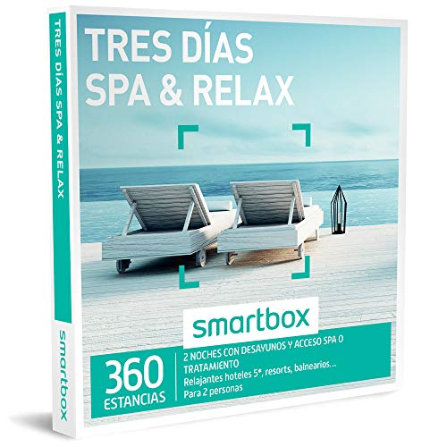 Smartbox - Caja Regalo - Tres DÍAS SPA & Relax - 360 estancias en hoteles 5*, Resorts o balnearios