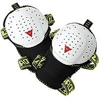 Dainese Active Knee Guard Evo Abbigliamento Protettivo, Bianco/Nero, N