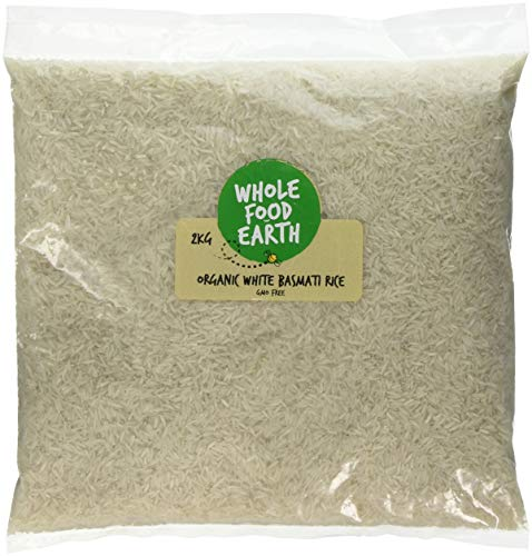 Wholefood Earth Organic White Basmati Rice, 2 kg