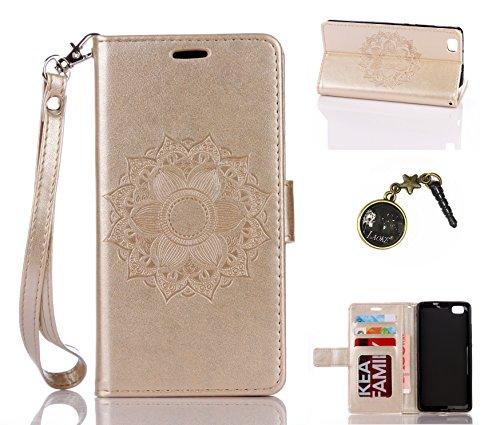 Preisvergleich Produktbild PU Silikon Schutzhülle Handyhülle Painted pc case cover hülle Handy-Fall-Haut Shell Abdeckungen für (Huawei P8 Lite) +Staubstecker (3SS)