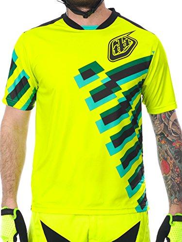 maglia-a-maniche-corte-mtb-troy-lee-designs-2017-skyline-force-florescent-giallo-m-giallo