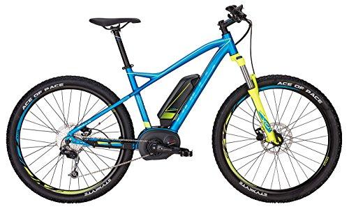 Bulls E-Bike Modell SIX50 E1 (2017) Elektrofahrrad 27.5 Zoll, E-Mountainbike - Lithium Ionen Akku, 400Wh, 9 Gang-Kettenschaltung, blau