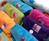 Cheeky Mama Bamboo Minkee Waschbare Slipeinlagen, während der Schwangerschaft oder bei starken Monatsblutungen, 5Stück