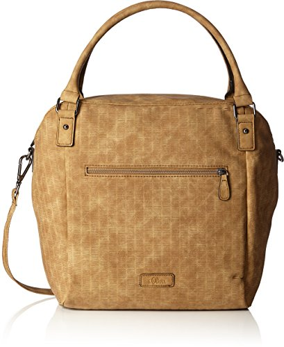 s.Oliver (Bags) - Shopper, Borse a mano Donna Marrone (Dark Sand)