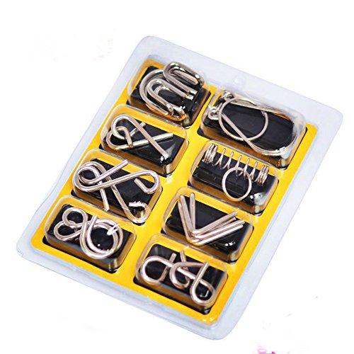 Teaser ist 3D Knobelspiele Geduldspiele Denkspiel , das entwirren Rätsel und Test IQ für Kinder und Erwachsene #2 ()