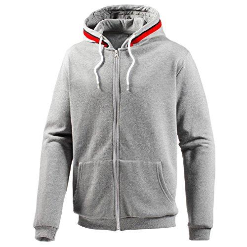 Trachtenhoodie in Grau von Waschechterbayer, Größe:L, Farbe:Grau