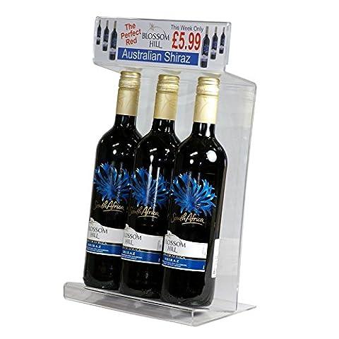 Acrylic Wine Merchandiser Display Unit by BHMA Limited