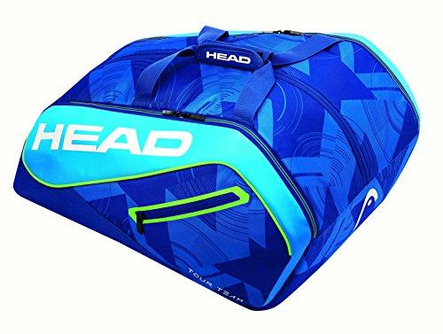 Head Tour Team Padel Moostercom Paletero, Unisex Adulto, Azul/Verde/Blanco, Talla Únic