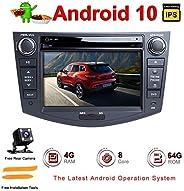 Android Autoradio Stereo, ZLTOOPAI Für Toyota RAV4 2006-2012 Android 10,0 Octa Core 4G RAM 64G ROM 7 Zoll Kapa