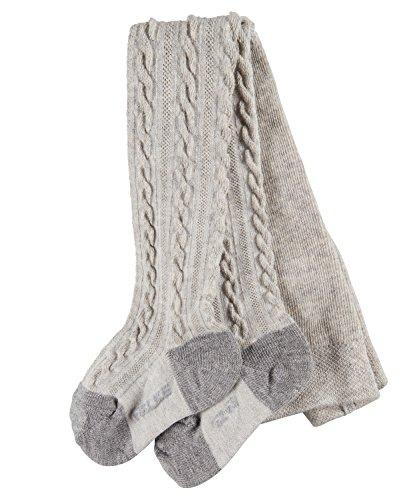 falke strumpfhose baby FALKE Unisex Baby Strumpfhose Cable, Grau (Storm Grey 3820), 74-80 (Herstellergröße: 6-12 months)