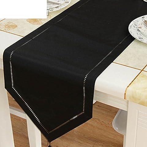 Moderne Minimalistische Mode Polyester Hohlen Tischläufer,Bett-runner-A 150x240cm(59x94inch)