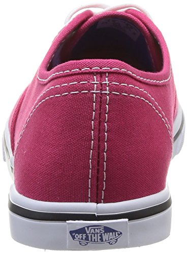Vans AUTHENTIC LO PRO Unisex-Erwachsene Sneakers Rot ((Pop) Rose Rd/P FKA)