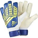 adidas Predator Gants Gardien de But Mixte Adulte, Solar Yellow/Active Red/Football Blue, FR : M (Taille Fabricant : 5)