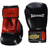 Bad Company Boxhandschuhe aus Kunstleder Fighter Punch I Fausthandschuhe f/ür das Boxtraining I Gewichtsklassen 10 oz 16 oz I Schwarz//Wei/ß
