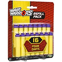 Buzz Bee Toys Air Warriors 16 Suction Dart Refill by Buzz Bee