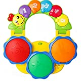 #10: Toyshine Educational Drum Musical, Handheld Toy, Lights, Music and Educational Functions